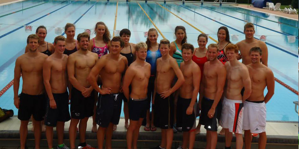 German swimming team